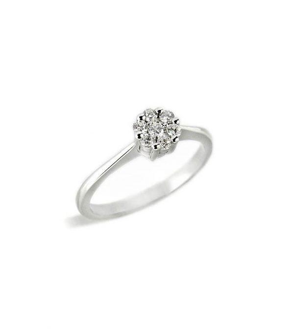 efc8576e5b64 Anillo oro blanco con diamantes - Jose Luis Joyero