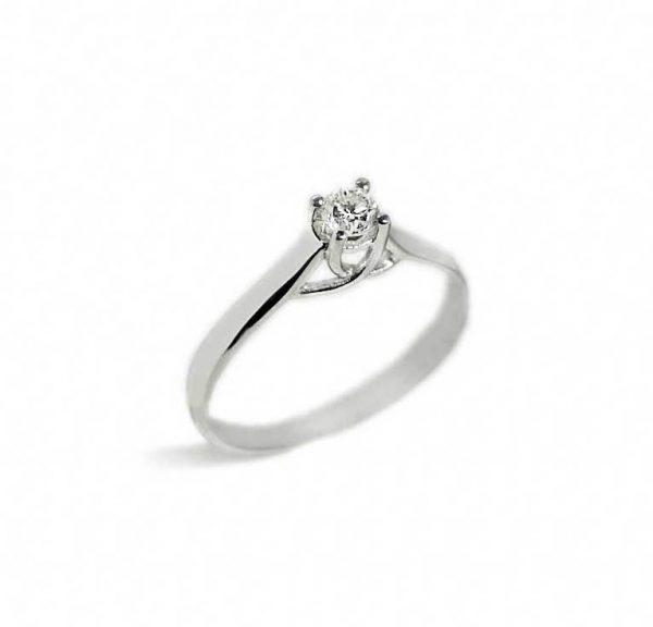 017b9e6c3205 Anillo oro blanco con diamante - Jose Luis Joyero