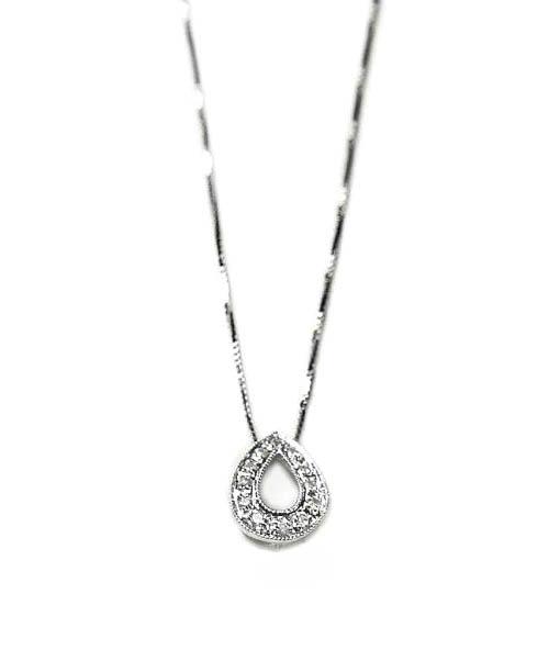 rebajas outlet original de costura caliente nueva productos calientes Colgante con cadena oro blanco con diamantes
