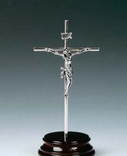 Crucifijo Plata de Ley Joyeria Jose Luis Joyero Centro Historico Malaga