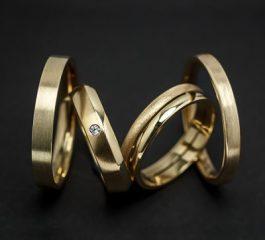 Alianzas de boda oro 18 Ktes Jose Luis Joyero Malaga