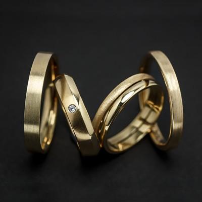 0a94c683237d Alianzas de boda oro 18 Ktes Jose Luis Joyero Malaga