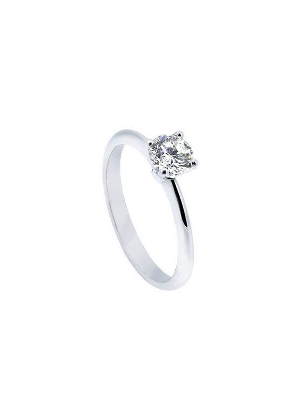 7b21850afbf2 Anillo oro blanco con diamante - Jose Luis Joyero