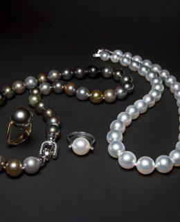 Collares de perlas Australianas y de Tahiti Jose Luis Joyero Malaga