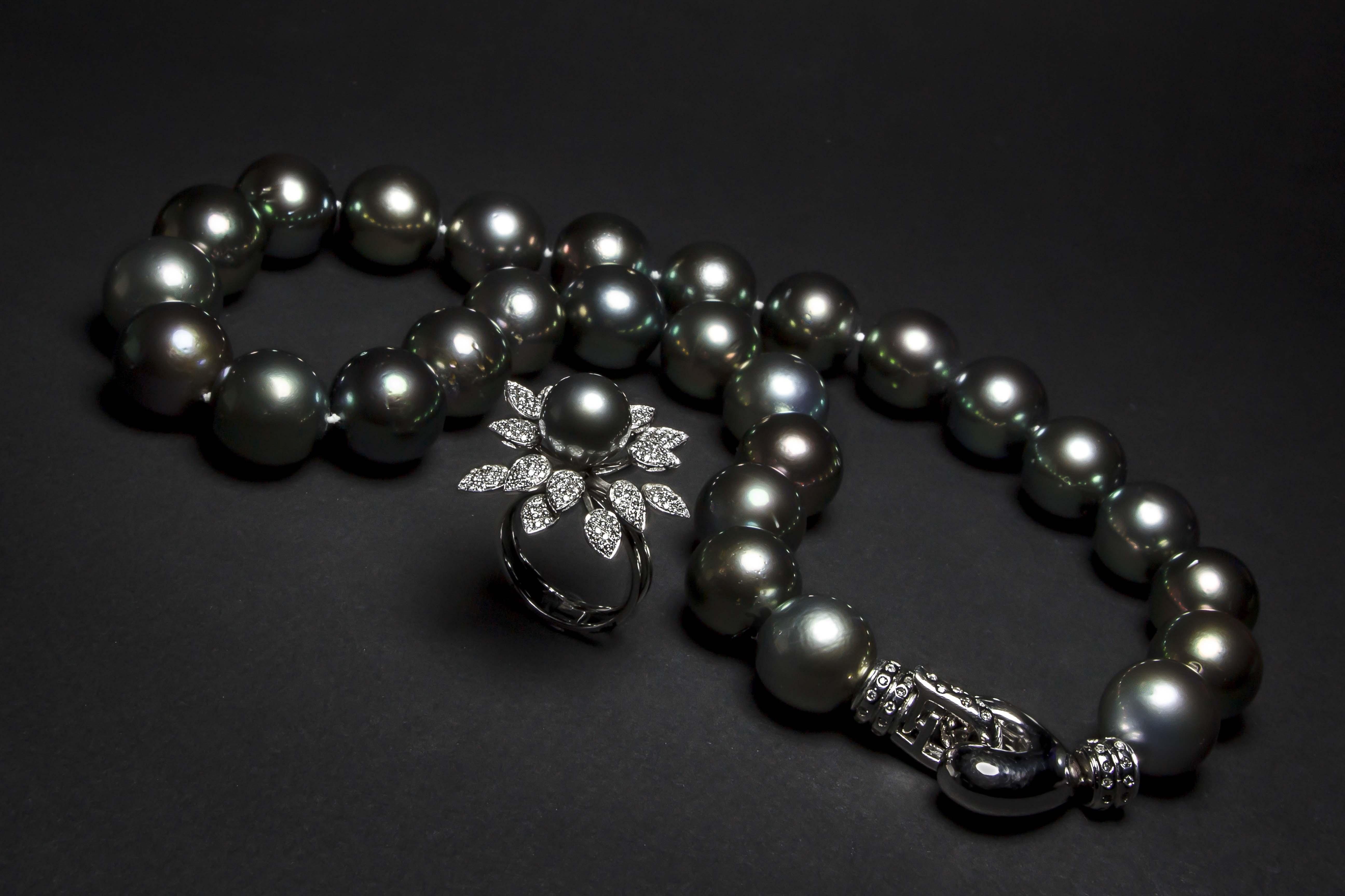 1a736a0aaa79 Collar perlas de Tahiti - Jose Luis Joyero