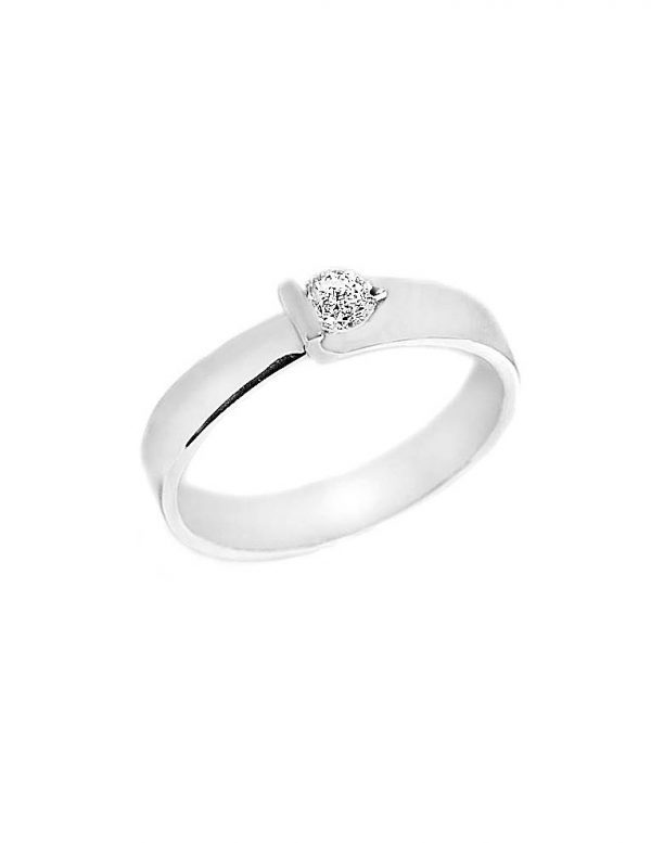 0ca3ad3094f5 Anillo oro blanco con diamantes - Jose Luis Joyero