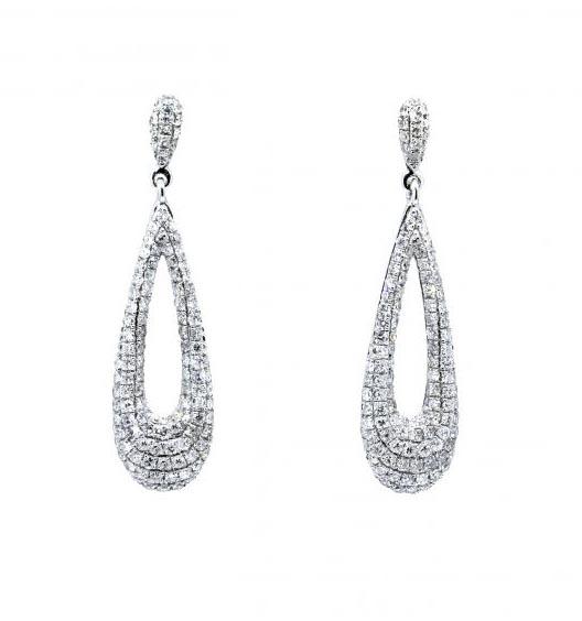 da3da9a992b9 Pendientes oro blanco con diamantes - Jose Luis Joyero