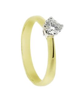 9a2303bb2fc7 Anillo oro amarillo con diamante - Jose Luis Joyero